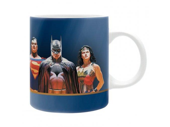 dc comics mug 320ml bat sup ww justice subli box x2