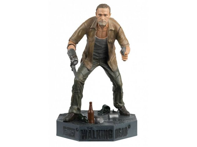 the walking dead collectors models mini figure 5 merle 9 cm damaged packaging 0 800 800