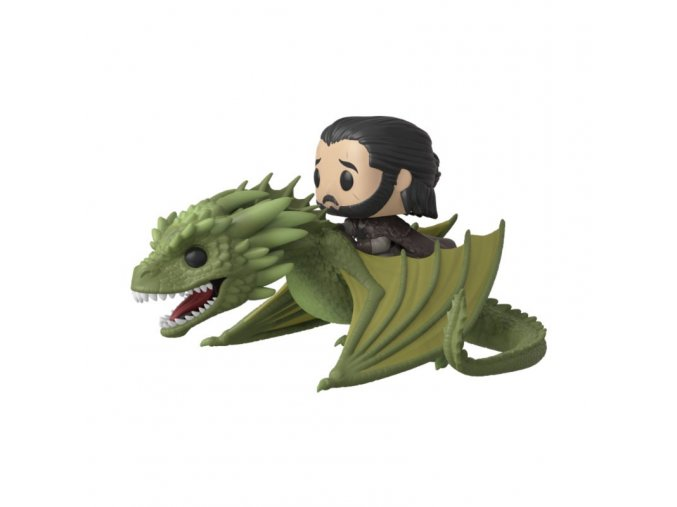 funko pop hra o truny game of thrones jon snow rhaegal