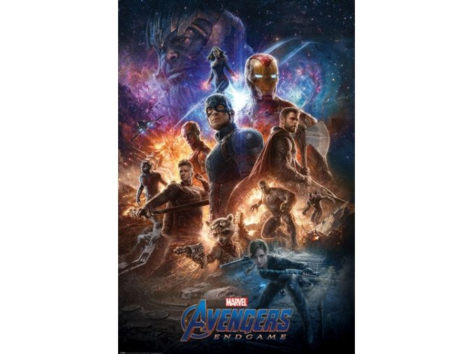 plakát avengers endgame