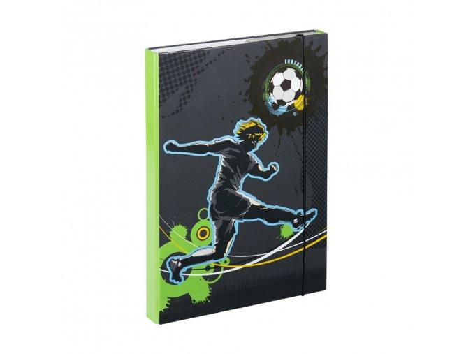 desky na skolni sesity a4 fotbal 1