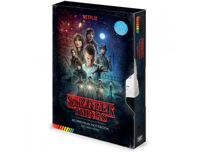 blok stranger things vhs one sheet