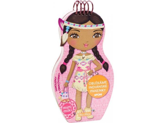 oblekame indianske panenky aponi omalovanky 1 1