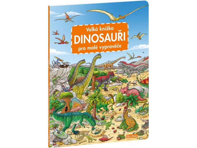 velka knizka dinosauri pro male vypravece 332487 13