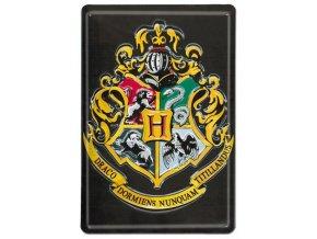 Plechová cedule Harry Potter - Bradavice