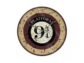 harry potter nastenne hodiny nastupiste 9 a 3 4