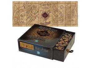 harry potter luxusni puzzle pobertuv planek