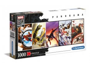 marvel panorama puzzle 80 years
