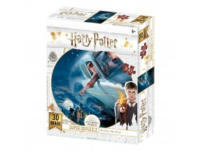 harry potter 3d puzzle flying