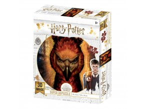 harry potter 3d puzzle fawkes
