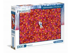 disney ledove kralovstvi frozen impossible puzzle olaf