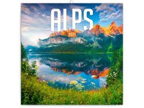poznamkovy kalendar alpy 2021 30 x 30 cm 127381 16