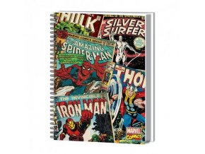 marvel avengers blok komiks
