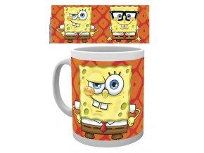 sponge bob hrnek faces