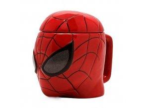 marvel 3d hrnek spiderman