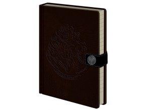 Luxusní zápisník A5 Harry Potter - Bradavice