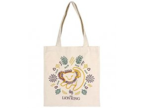 multi use bag the lion king 72894 white cotton