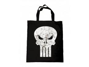 sac tote bag the punisher logo