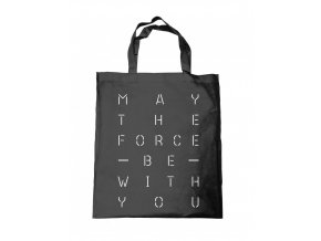 sac tote bag star wars may the force text