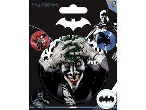 dc comics batman sada samolepek