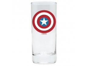 marvel avengers sklenice captain america