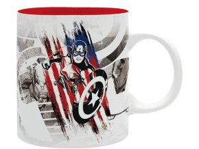 marvel avengers hrnek captain america design