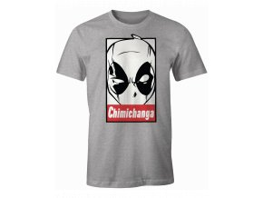 deadpool marvel panske tricko chimichanga