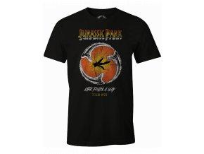 jurassic park panske tricko ambre logo