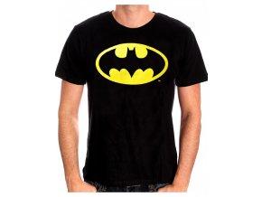 Pánské tričko Batman - Logo, černé