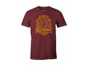 Pánské tričko Harry Potter - Nebelvír