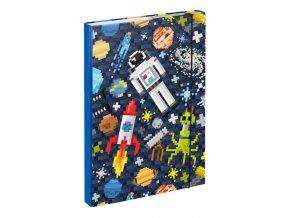 desky na skolni sesity a4 space game 44687 23