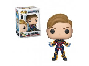 marvel sberatelska figurka pop vinyl endgame captain marvel w new hair