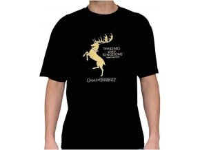 tshirt tricko game of thrones hra o truny baratheon robert 2