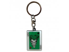 dc comics privesek na klice the joker card