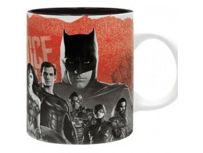 dc comics batman hrnek liga spravedlivych justice league 320 ml