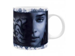 game of thrones hra o truny hrnek 320 ml dve kralovny subli matte