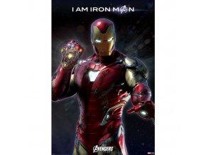 plakat avengers endgame i am iron man 5f1a85c882fbe
