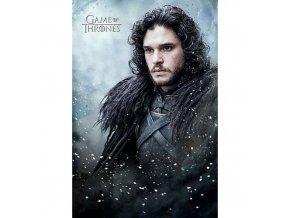 plakat game of thrones jon snow 5f3df2e97b913