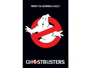 plakat ghostbusteres logo 5f72aeea71a2f