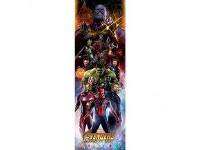 plakat na dvere avengers infinity war postavy 5f2f7269d2d09