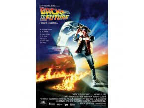 plakat back to the future one sheet 5f4dc4ea27260