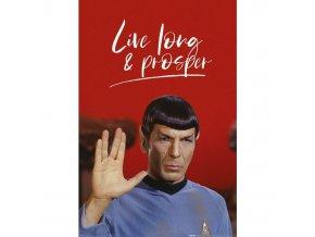 plakat star trek live long and prosper 5f3cc20b62980