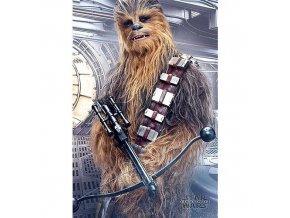 plakat star wars viii the last jedi chewbacca bowcaster 5f3268a66c90c