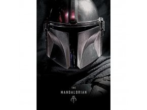 plakat star wars mandalorian dark 5f2cedc2e19a4
