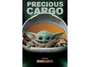 plakat star wars mandalorian precious cargo 5f69746a6b575