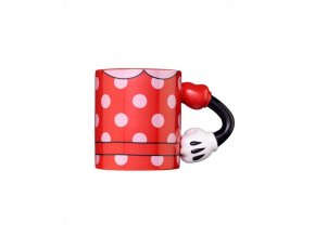 3d mug arm minnie mouse 350ml