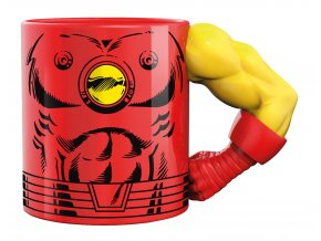 3d mug arm iron man 350ml