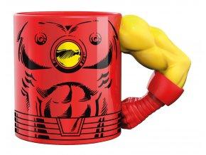3d mug arm iron man 350ml