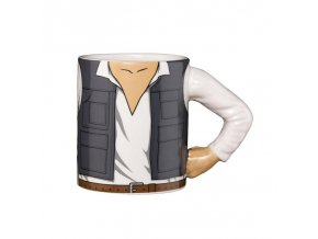 3d mug arm han solo 350ml