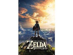 legend of zelda poster Sunset